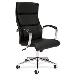Basyx VL100 Executive Leather High-back Chair