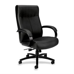 Basyx VL685 Big & Tall Leather High-back Chair