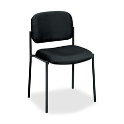 Basyx VL600 Series Armless Stacking Guest Chairs