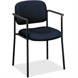 Basyx VL616 Plastic Arms Stacking Guest Chairs