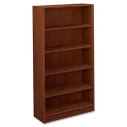 Basyx BL Med.Cherry Laminate 5-shelf Bookcase