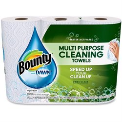 Procter & Gamble Bounty With Dawn Detergent Towels