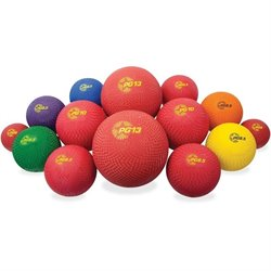 Champion Sports Multi-Size Playground Ball Set