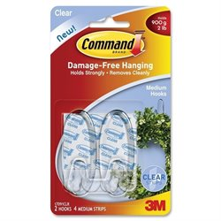 3M Command Adhesive Strips Medium Hanging Hooks