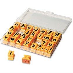 Eductnl Insights Lowercase Alphabet Stamps