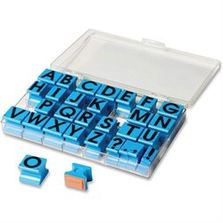 Eductnl Insights Uppercase Alphabet Stamps