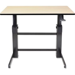Ergotron 24271928 Birch Sit/Stand Adjustable Desk
