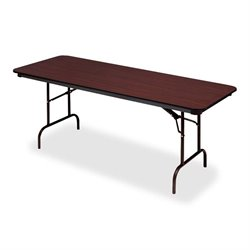 Iceberg Premium Mahogany Laminate Folding Tables
