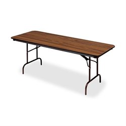 Iceberg Premium Wood Oak Laminate Folding Tables