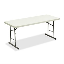Iceberg IndestrucTable Adjustable Folding Tables