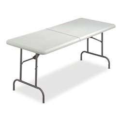Iceberg 1200 Series Hvy-duty Half Folding Table