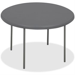 Iceberg IndestrucTable TOO Round Folding Tables