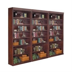Kathy Ireland Home by Martin Huntington Club Wall Bookcase