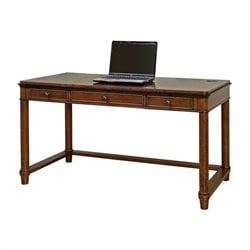 Kathy Ireland Home by Martin Kensington Laptop Writing Desk in Warm Fruitwood