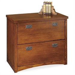 Kathy Ireland Home by Martin Mission Pasadena 2 Drawer Lateral Filing Cabinet
