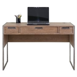 Martin Furniture Belmont Computer Desk in Brushed Ash
