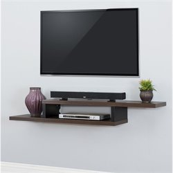 Ascend Asymmetrical TV Mount Colonel Walnut