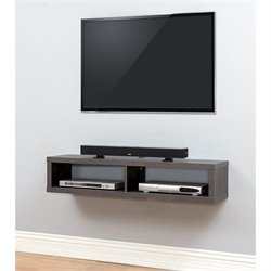 Shallow TV Mount in Skyline Walnut