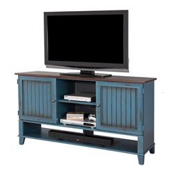 Martin Furniture Ellington Deluxe TV Console in Blue