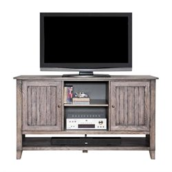 Martin Furniture Harmon Deluxe TV Console in Weathered Greige