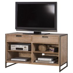 Martin Furniture Belmont TV Table in Bushed Ash
