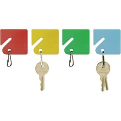 MMF Industries Snap Hook Slotted Rack Key Tags