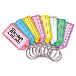 MMF Industries Multi-colored Key Tag Replacements