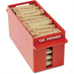MMF Industries Porta-Count Extra-cap. Penny Trays