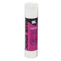 Officemate Disappearing Color Glue Sticks