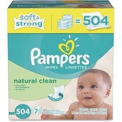 Procter & Gamble Pampers Natrl Clean Wipes Refill