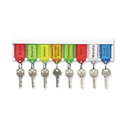 PM Company Lightweight Keytag Wall Rack