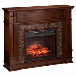 Highgate Electric Fireplace TV Stand in Maple