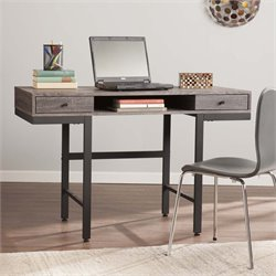 Southern Enterprises Ranleigh Writing Desk in Weathered Gray