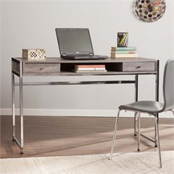 Southern Enterprises Norcross Writing Desk in Weathered Gray