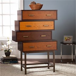 Southern Enterprises Kismet 4 Drawer Accent Chest