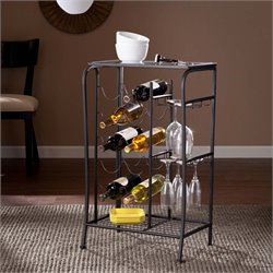 Marengo Wine Rack Storage Table