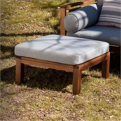 Southern Enterprises Delaney Square Patio Ottoman