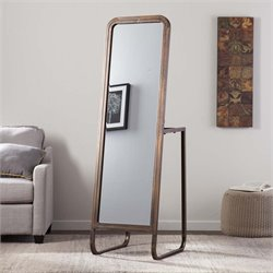 Southern Enterprises Akerson Wardrobe Mirror in Bronze