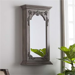 Southern Enterprises Julia Wall Mount Jewelry Armoire Mirror
