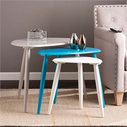 Southern Enterprises Tatum 3 Piece Nesting Table Set