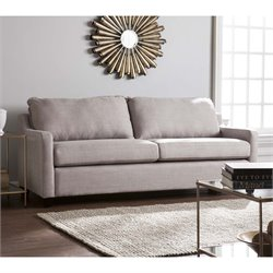 Southern Enterprises Allington Sofa in Soft Gray