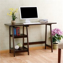Southern Enterprises Gavin Desk in Espresso