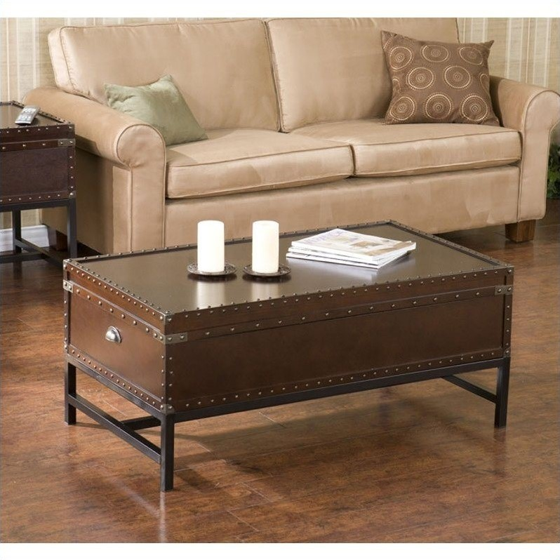 Southern Enterprise Yorkshire 3 Piece Trunk Table Collection Gp0021
