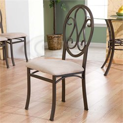 Southern Enterprises Lucianna Dining Chair in Dark Brown (Set of 4)