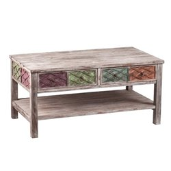 Southern Enterprises Dharma Coffee Table in Multi