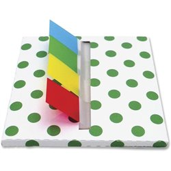 Redi-Tag Designer Flag Desk Dispenser