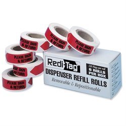 Redi-Tag Sign/Return Refill Flags