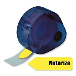 Redi-Tag Removable Notarize Flags