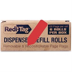Redi-Tag Solid Arrow Dispenser Flags