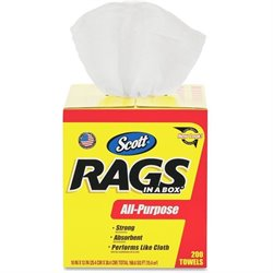 Kimberly-Clark Scott Rags In A Box Towels